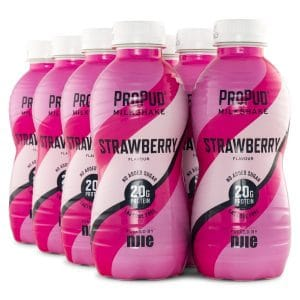 Njie ProPud Protein Milkshake Strawberry 8-pack