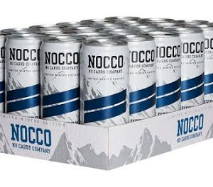 Nocco BCAA 24 x 330ml - Blueberry