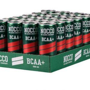 Nocco Bcaa+ 24 x 330ml - Hallon/Citron