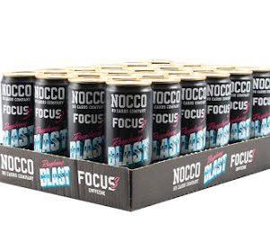 Nocco Focus 24 x 330ml - Raspberry Blast