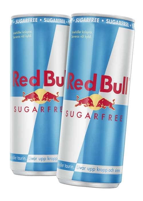 Red Bull Sugarfree 25 cl x 2 st