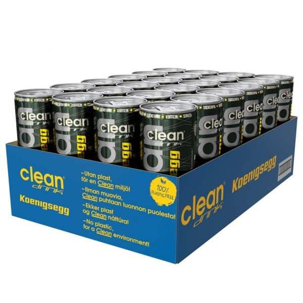 24 X Clean Drink, 330 Ml, Koenigsegg