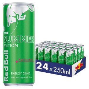 24 X Red Bull Energy Drink, 250 Ml, Summer Edition Kaktus