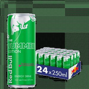 24 x Red Bull Energidryck, 250 ml, Summer edition, Cactus