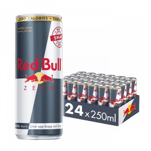 24 x Red Bull Energidryck Zero, 250 ml