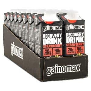 Gainomax Recovery Drink Strawberry 16-pack