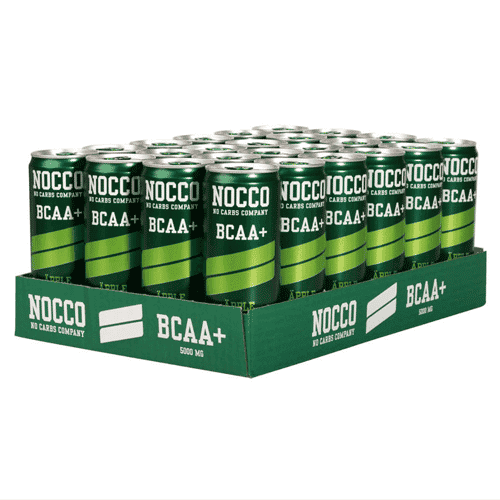 NOCCO BCAA+ 330ml 24-pack - Äpple