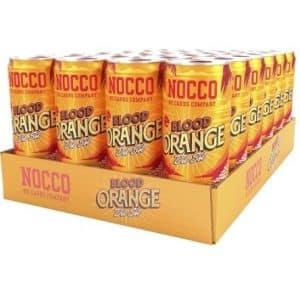 NOCCO BCAA Blood Orange del Sol 330ml - 24-pack