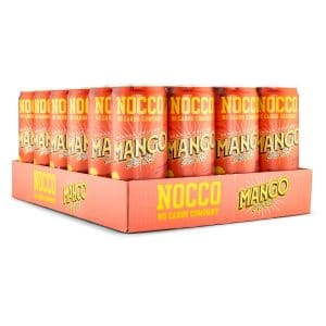 NOCCO BCAA Mango Del Sol, Koffein 24-pack