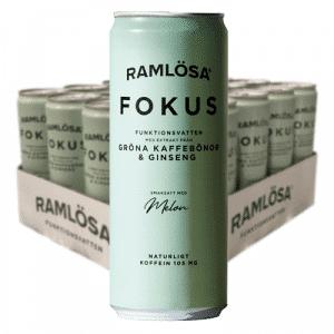 Ramlösa Funktionsvatten Fokus 33cl x 20