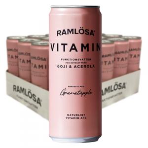 Ramlösa Funktionsvatten Vitamin 33clx20