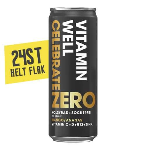 Vitamin Well Celebrate Zero 33,5 CL-24st