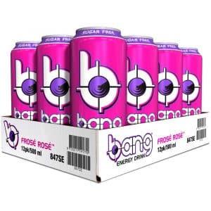 12 X Bang Energy Drink, 500 Ml, Frosé Rosé
