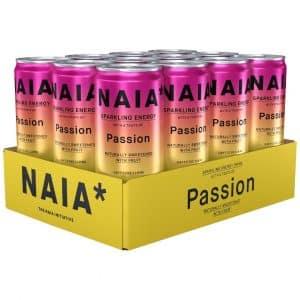12 X Naia* Drink, 330 Ml, Passion