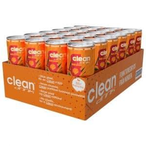24 X Clean Drink, 330 Ml, Blood Orange