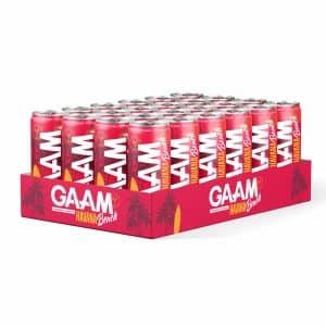 24 X Gaam Energy, 330 Ml, Havana Beach