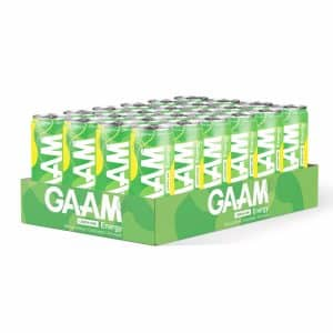 24 X Gaam Energy, 330 Ml, Lemon Lime