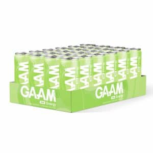 24 X Gaam Energy, 330 Ml, Pear