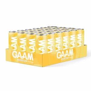 24 X Gaam Energy, 330 Ml, Tropical Pineapple