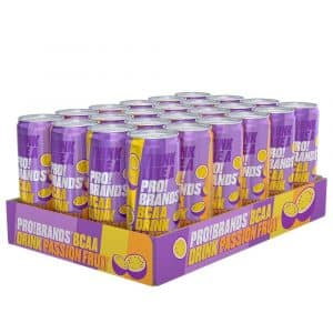 24 X Pro Brands Bcaa Drink, 330 Ml, Passionfruit
