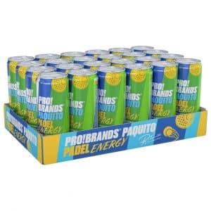 24 X Pro Brands Paquito Padel Energy, 330 Ml