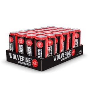 24 X Wolverine Energy Drink, 500 Ml