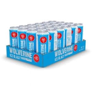 24 X Wolverine Energy Drink, 500 Ml, Ice Blast
