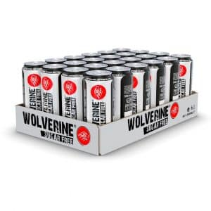 24 X Wolverine Energy Drink, 500 Ml, Sugarfree