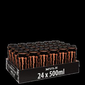 24 x Monster Energy, 50 cl, Mule Ginger Brew