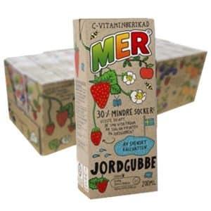 MER Jordgubbe 20 cl x 30 st