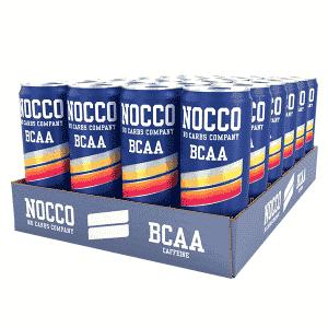 NOCCO BCAA 330ml 24-pack - Blood Orange Del Sol