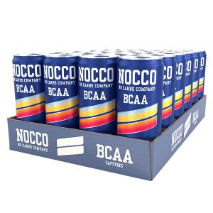 NOCCO BCAA 330ml 24-pack - Sunny Soda