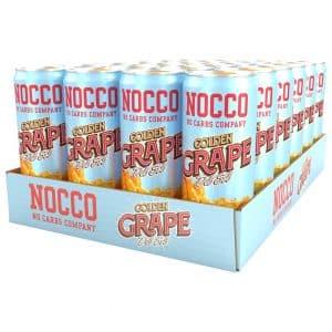 24 X Nocco Bcaa, 330 Ml, Golden Grape Del Sol