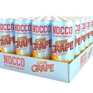 Nocco BCAA 24 x 330ml - Golden Grape Del Sol