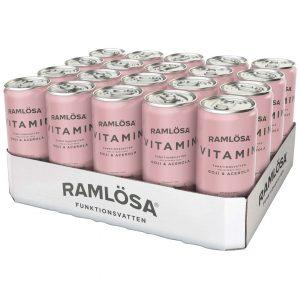 20 X Ramlösa Funktionsvatten, 330 Ml, Vitamin