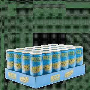 24 x NOCCO BCAA, 330 ml, Summer edition, Limon del Sol
