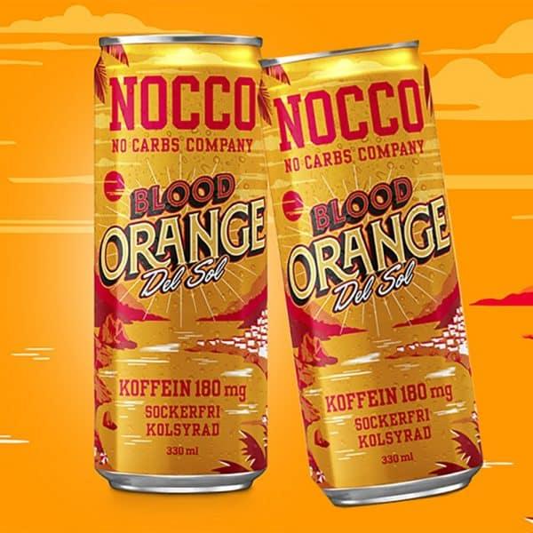 Nocco Blood Orange Del Sol - 24-pack