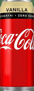 Coca-Cola Vanilla Zero 33cl x 20st