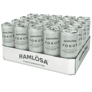 Ramlösa Funktionsvatten 330 ml 20-pack - Fokus