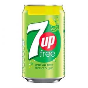 7-UP Free Sockerfri - 24-pack