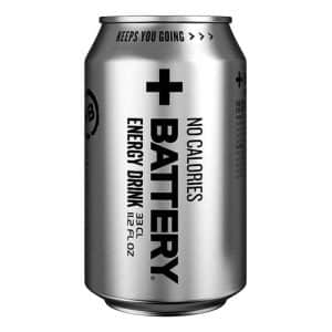 Battery Energy Drink No Calories - 24-pack