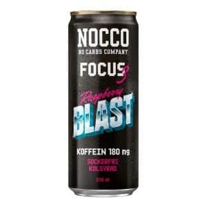 Nocco Focus 3 Raspberry Blast - 24-pack