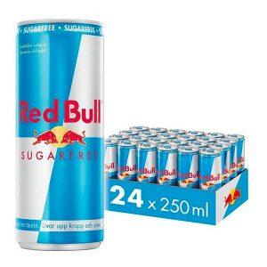 Red Bull Sockerfri Energy Drink - 24-pack