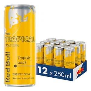 Red Bull Tropical Energidryck - 12-pack