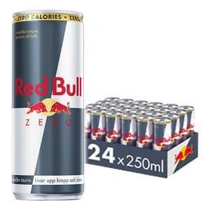 Red Bull Zero Energidryck - 24-pack