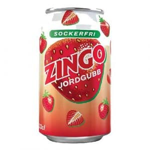 Zingo Jordgubb Sockerfri - 24-pack