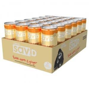 24 X Clean Drink Sav:d, 330 Ml, Baked Apple & Ginger