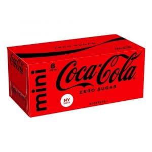 Coca-Cola Zero Mini - 8-pack